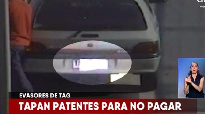 conductor que cubrió su placa patente Jaime Bravo habla sobre el tema